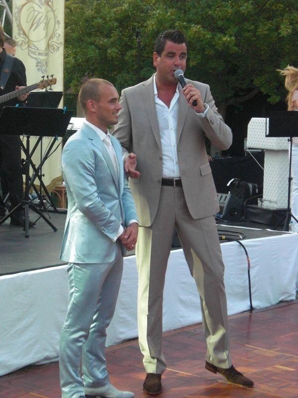 michael oomen en wesley sneijder